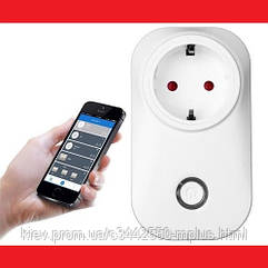 Wi-Fi socket - Вай-Фай розетка 10A