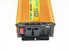 Инвертор UKC 1500W 24V Преобразователь тока AC/DC Gold, фото 5