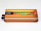 Инвертор UKC 1500W 24V Преобразователь тока AC/DC Gold, фото 6