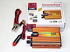Инвертор UKC 500W 24V Преобразователь тока AC/DC Gold, фото 2