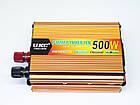 Инвертор UKC 500W 24V Преобразователь тока AC/DC Gold, фото 3