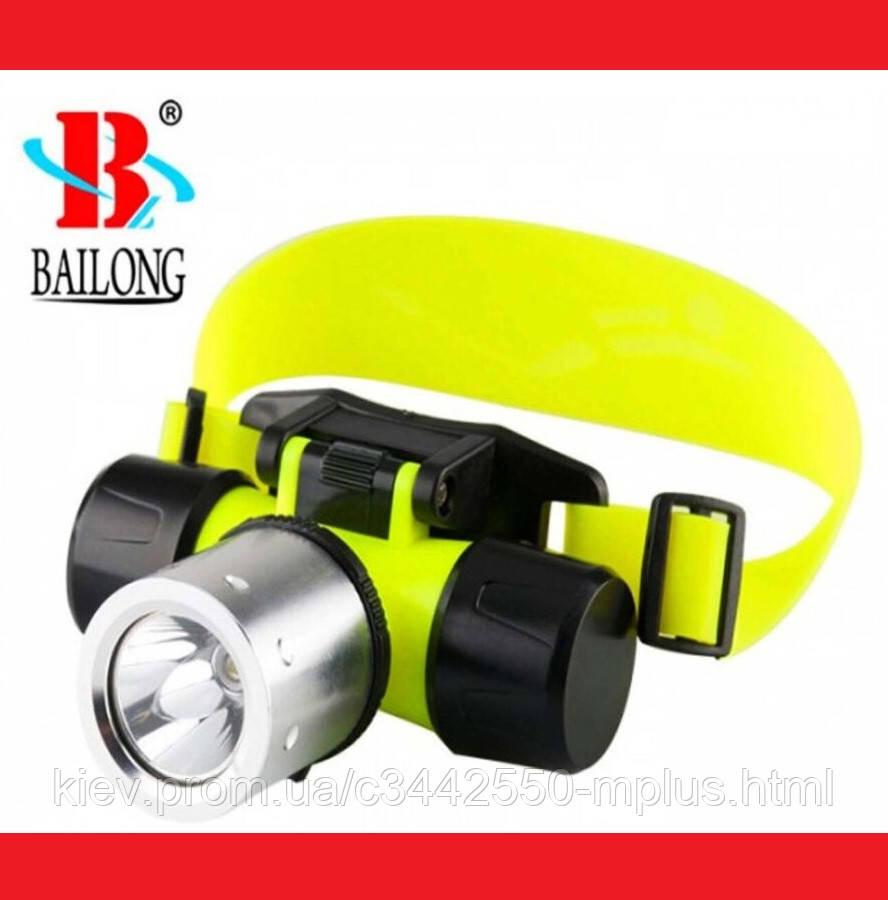 Налобный фонарик для дайвинга Bailong BL-56