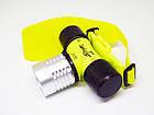 Налобный фонарик для дайвинга Bailong BL-56, фото 6