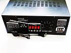 Усилитель UKC AV-2009A FM SD USB AUX Караоке 6xМикрофонов 8-канальный, фото 3