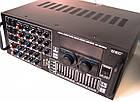 Усилитель UKC AV-2009A FM SD USB AUX Караоке 6xМикрофонов 8-канальный, фото 4