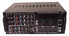 Усилитель UKC AV-2009A FM SD USB AUX Караоке 6xМикрофонов 8-канальный, фото 5