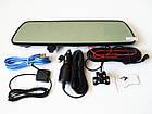 "DVR V17 Зеркало регистратор, 7"" сенсор, 2 камеры, GPS навигатор, WiFi, 8Gb, Android, 3G, фото 2"