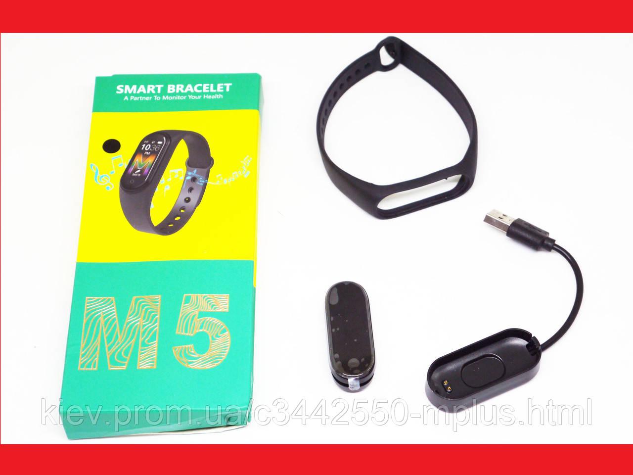 Xiomi Mi Band 5 Фитнес браслет смарт часы Спортивный трекер м5 (копия)