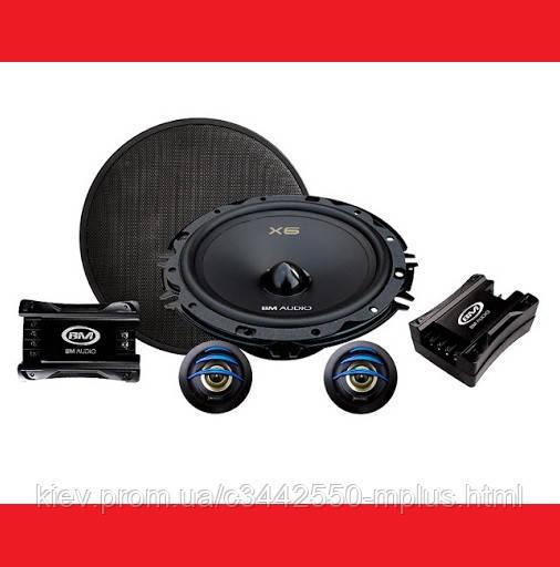 16см BM Audio F-628-X6 250W 2х полосные компонентные