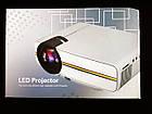 Проектор мультимедийный с динамиком Led Projector YG400, фото 6