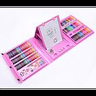Набор для рисования чемодан 208 предметов Цвет розовый, фото 2