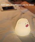 Ночной светильник силиконовая свинка Mini Pig, фото 5