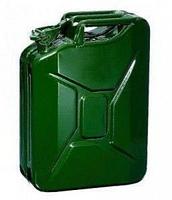 Канистра для ТСМ ( Топливно-Смазочных материалов) C-10G, вертикальная, зелёная, 10 л