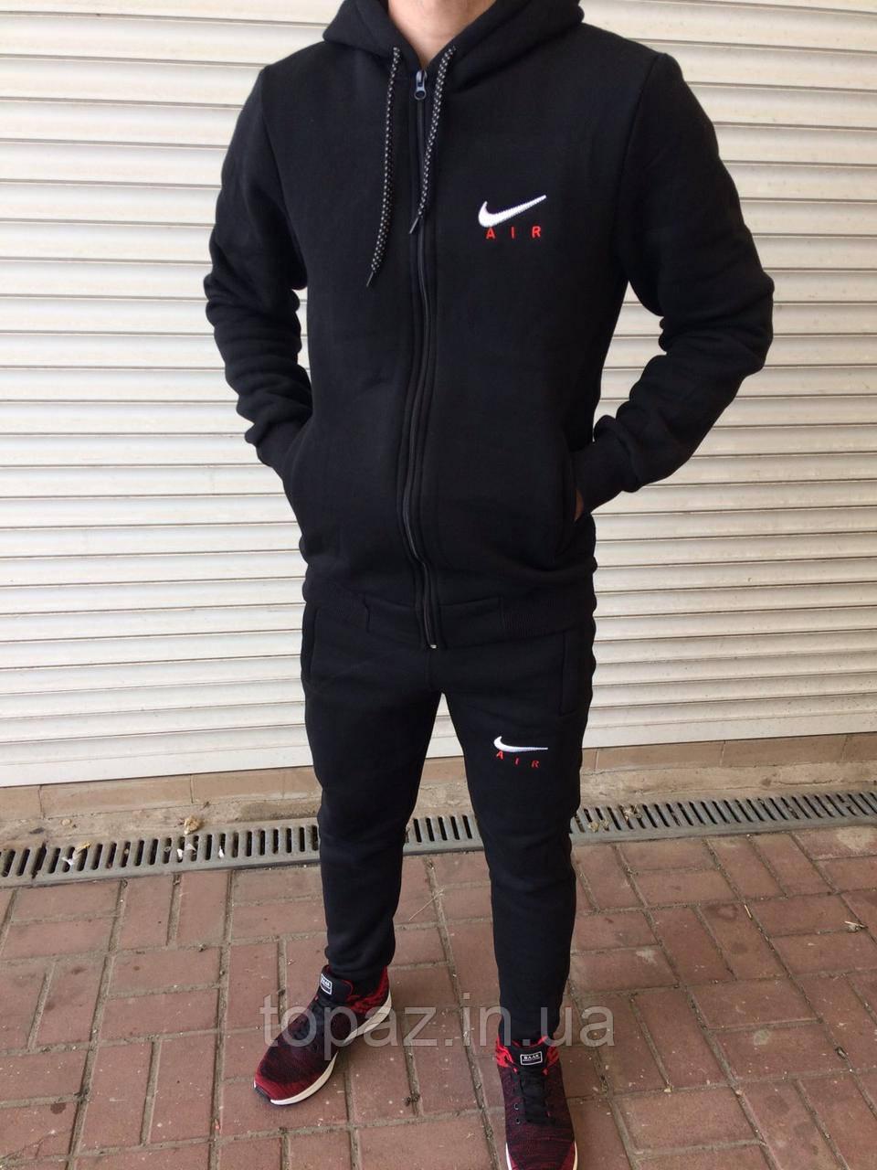 Спортивный мужской костюм на флисе. Размер 52.