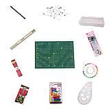 Набор для пэчворка и квилтинга Базовый 11 ед А3 мат Инструменты для творчества и шитья Шитье Рукоделие, фото 2