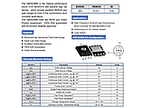 QM3024M6 / M3024M 6*4mm - 30V 57A N-Channel MOSFET, фото 3
