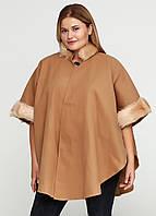 Женское пальто размер 48-50 (XXL)  AL-90376, фото 1