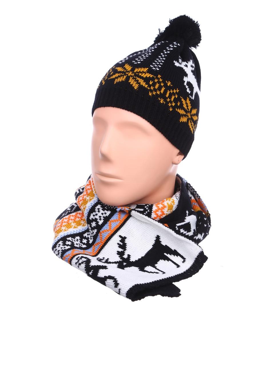 Зимняя шапка и шарф AL7970-10
