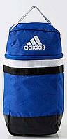 Спортивная прочная сумка для обуви  Adidas TIRO SB S30280 синий с черным