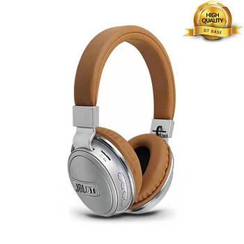 Наушники беспроводные Bluetooth J B L 560BT brown