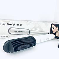 Расческа выпрямитель Fast Hair Straightener HQT-909B, фото 1