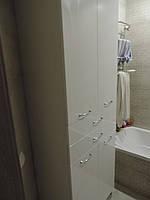 Шкаф в ванную комнату глянец