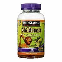 Kirkland Signature, Витамины Childrens Complete Multivitamin 160 Gummies
