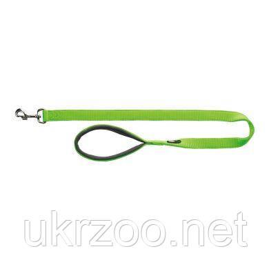 Поводок Trixie нейлоновый с неопреновой петлей «Premium» XS 1,20 м / 10 мм (зелёный) - 200017