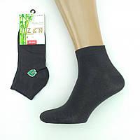 Ароматизированные мужские носки короткие бамбук Z&N Турция 40-44р, черные, 20023102