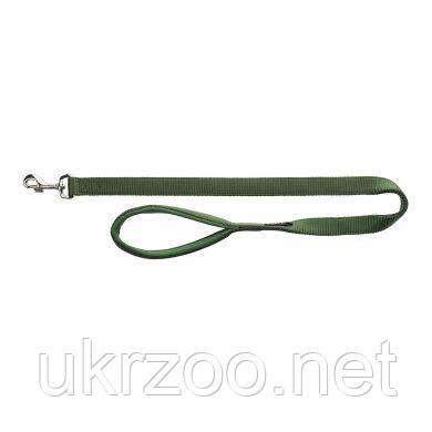 Поводок Trixie нейлоновый с неопреновой петлей «Premium» XS 1,20 м / 10 мм (зелёный) - 200019
