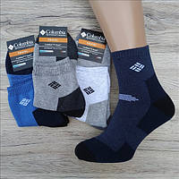 Мужские носки махровые тёплые спорт SPORT C 40-44р ассорти НМЗ-040408, фото 1