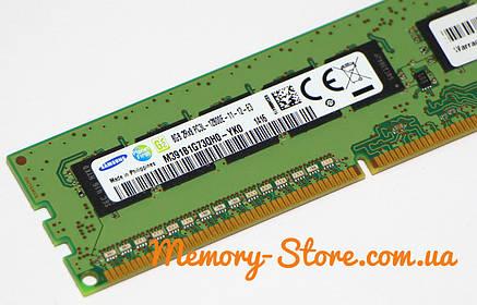 Оперативна пам'ять для ПК Samsung DDR3 8Gb PC3L-12800E 1600MHz Intel і AMD, фото 2