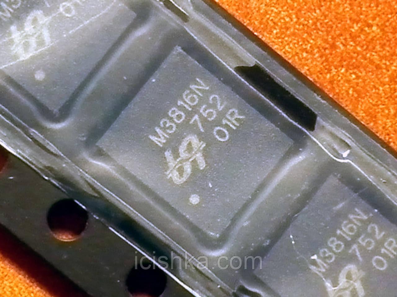 QM3816N6 / M3816N 6*4mm - 30V 51+117A Dual N-Channel MOSFET
