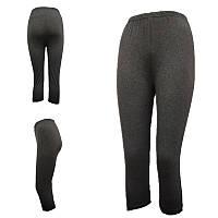 Бриджи женские серые батал 3/4 ALGI tekstil (в ростовке размеры: 58-60-62-64-66-68),20013882