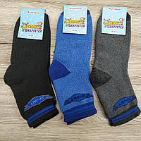 Носки детские - подростковые махровые Житомир Украина размер 18-20 ( случайное ассорти) НДЗ-070816, фото 1
