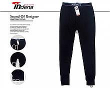 Мужские термо кальсоны подштанники двухслойные Indena 81007 ростовка L-4XL черные 20039417