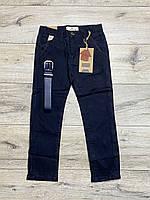 Катоновые брюки для мальчиков. 110- 122 рост.