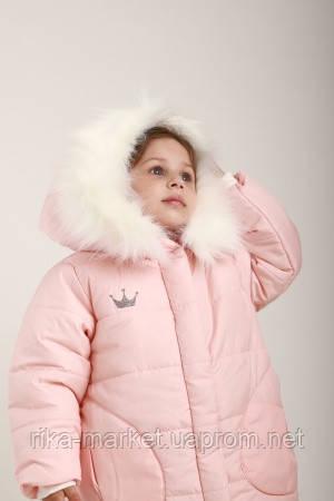 Куртка зима девочка Мята 0073