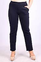 Женские брюки с мехом ЛАСТОЧКА 695-6 с карманами 6XL\58 синие ЛЖЗ-1205013, фото 1