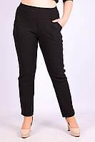 Женские брюки с мехом ЛАСТОЧКА 695-6 с карманами 7XL\60 чёрный ЛЖЗ-1205014, фото 1