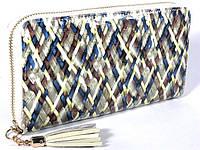 Кожаный кошелек на молнии Bristan Wero (9701), фото 1