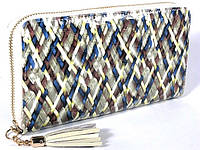 Кожаный кошелек на молнии Bristan Wero (9701)
