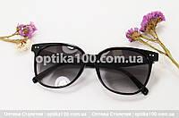Солнцезащитные круглые большие очки ДЛЯ ЗРЕНИЯ в стиле CELINE, фото 1