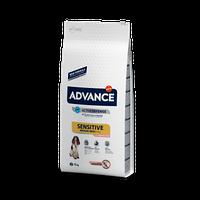 Advance (Эдванс) Medium-Maxi Sensitive Сухой корм для собак средних и крупных пород с лососем и рисом (12 кг.)