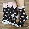 Носки с приколами демисезонные ароматизированные Marca 42106 черные Украина размер 23-25 НМД-0510680