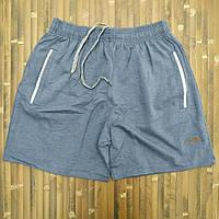 Трикотажные шорты укороченные норма х/б 46-54 джинс МТ-140133