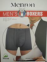 Трусы баталы мужские боксеры Menron 9126 underwear mens 5XL-6XL-7XL хлопок+бамбук ТМБ-1811613