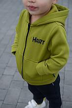 Теплый спортивный костюм ФЛИС для мальчика р. 86