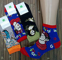 Женские носки демисезонные MONTEBELLO Турция 36-40р ассорти картины,20010850