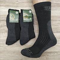 Мужские махровые носки ТЕРКУРІЙ Украина №701 29 размер чёрные НМЗ-040416, фото 1